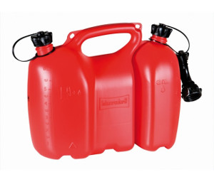 6+3 Liter kombidunk i plast.